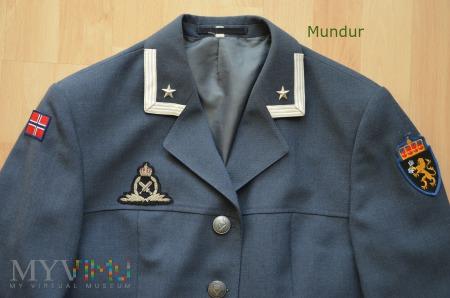 Norwegia: mundur wyjściowy damski - major