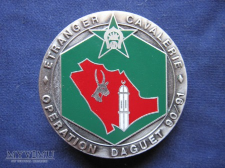 3e escadron, « opération DAGUET », 1990 - 1991..