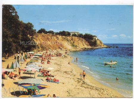 Duże zdjęcie Drushba - Kurort - plaża - lata 70-te XX w.