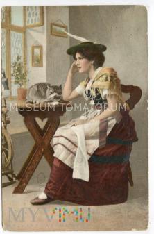 Dama z kotem