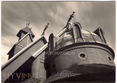 Karkonosze - Bierutowice, Świątynia Wang - ok.1966