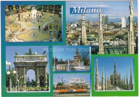 Milano (Mediolan) - Wielowidokowa