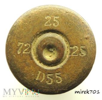 Łuska 6,5x54R Mannlicher 25 25 D55 72