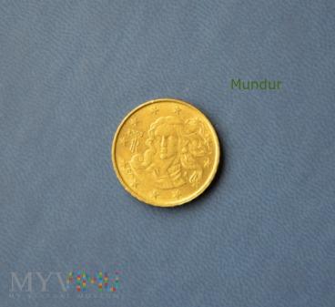 Moneta: 10 euro cent - Włochy