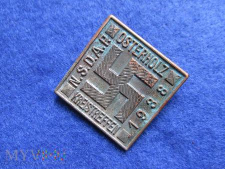 Tagungsabzeichen-odznaka okolicznościowa NSDAP