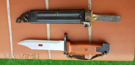 Bagnet typu 6h4 DDR (pomarańczowa rękojeść)
