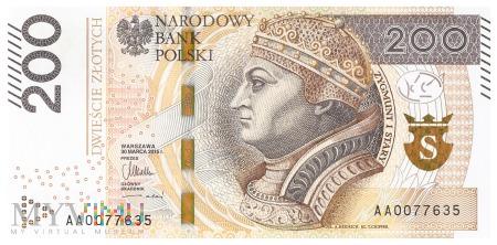 Polska - 200 złotych (2015)