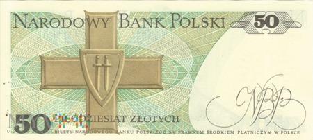 POLSKA PRL 50 ZŁOTYCH 1988