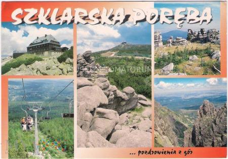 Karkonosze - Szklarska Poręba - lata 90-te XX w.