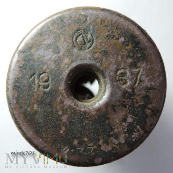 Łuska po naboju sygnałowym CvJ 1937 K37