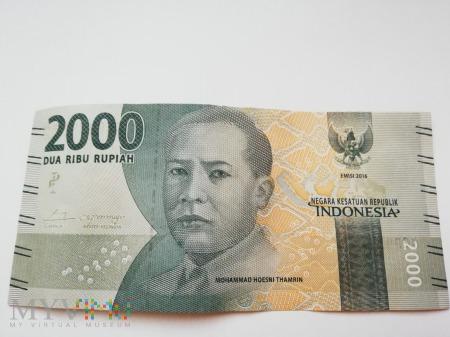 2000 Rupii- Indonezja 2016