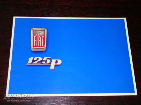 Prospekt POLSKI FIAT 125p