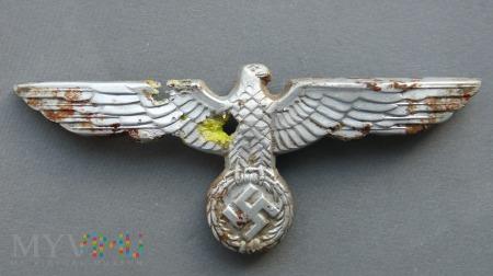 Orzeł z czapki wehrmachtu lata 1936-1945