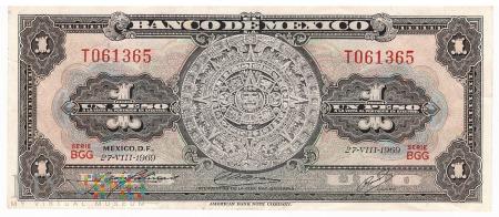 Meksyk - 1 peso (1969)