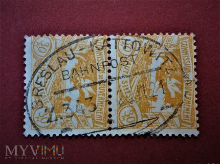 śląskie znaczki plebiscytowe za 30 fenigów