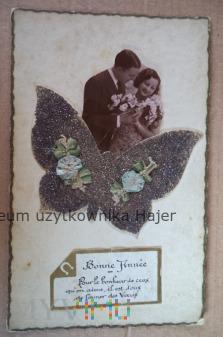 Bonne Année - kartka pocztowa