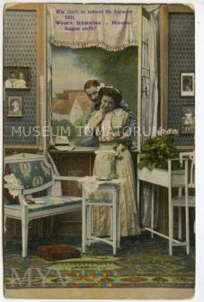 On i Ona przy oknie - 1914