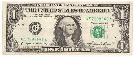 Stany Zjednoczone - 1 dolar (1981)