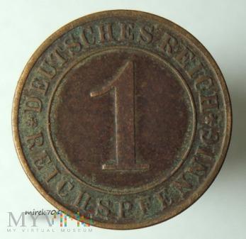 1 Reichspfennig 1936 D