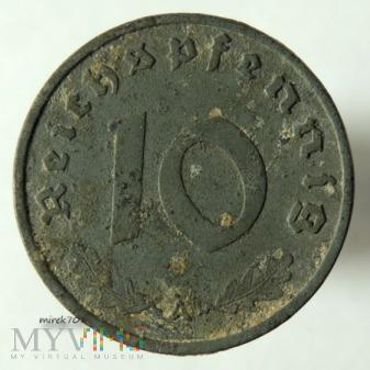 Duże zdjęcie 10 reichspfennig 1941 A