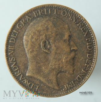 1 Farthing 1909 Edward VII