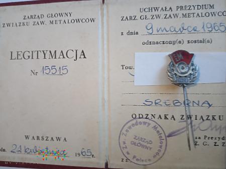 Odznaka ZZM