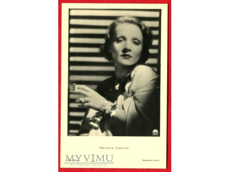 Marlene Dietrich Verlag ROSS 8851/1