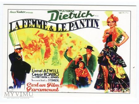 Marlene Dietrich Diabeł jest Kobietą 1935 FRANCJA