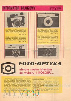 Informator branzowy Foto Optyka 1987(?)