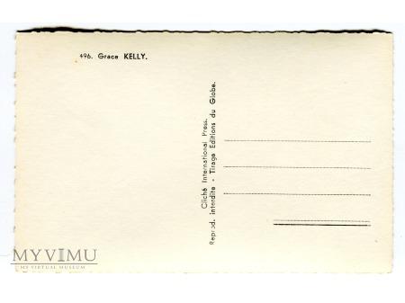 Grace Kelly Aktorka i księżna Monako postcard