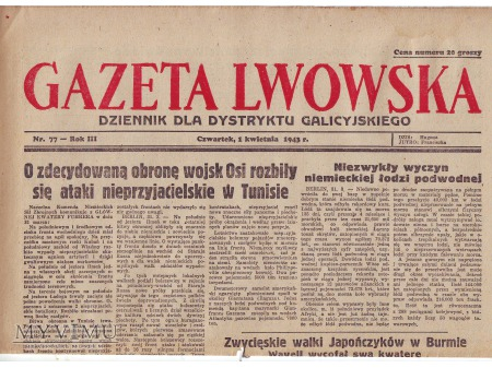 Gazeta Lwowska (1 IV 1943)