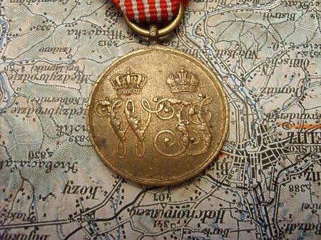 Duże zdjęcie Medal Pamiątkowy Roku 1864 Dla Kombatantów