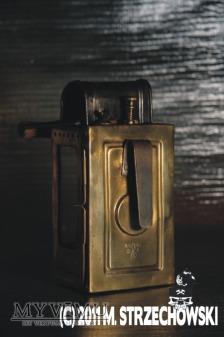 """Karbidowa lampa kolejowa """"Wilhelm Seippel"""""""