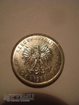 """2 ZŁ (małe) """"kłosy"""" zbiór 5 monet"""