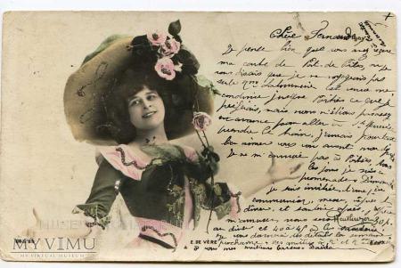 Duże zdjęcie Pocztówka artystyczna 1904