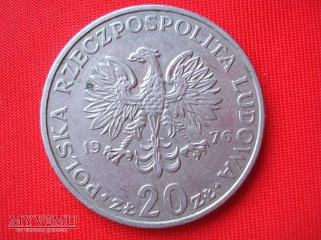 20 złotych 1976 rok (wersja II)