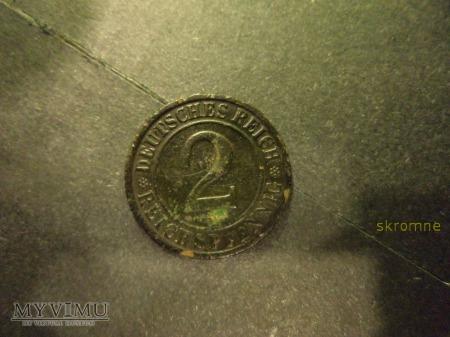 2 Reichspfennig z 1924r.