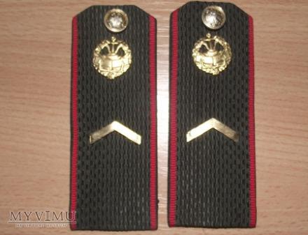 Rosyjskie pagony.