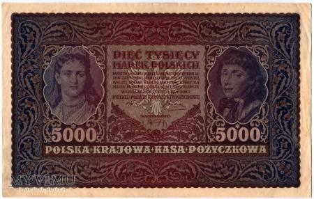 07.02.1920 - 5000 Marek Polskich