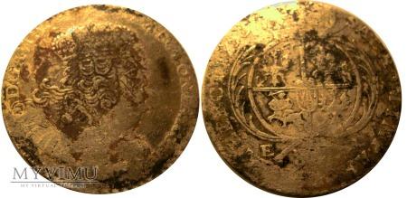 Dwuzłotówka 1753 August III SAS - R2