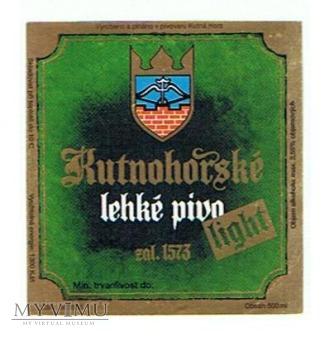 kutnohorské lekké pivo