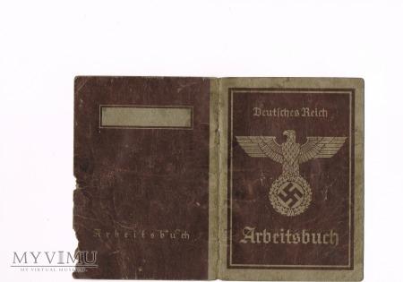 Książeczka pracy Arbeitsbuch
