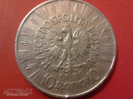 10 ZŁ JÓZEF PIŁSUDSKI 1936.