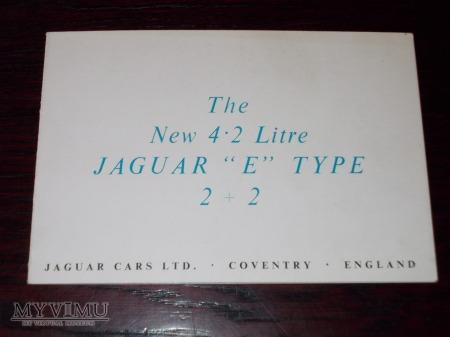 Duże zdjęcie Prospekt JAGUAR E-TYPE 4.2 LITRE 2+2