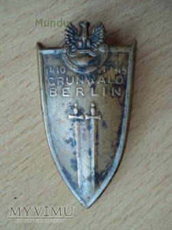 Odznaka Grunwaldzka - cienka