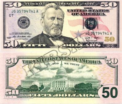 Banknot $ 50.00 2006 r