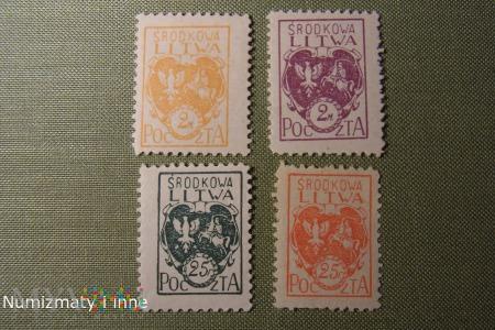 Duże zdjęcie znaczki Litwy Środkowej