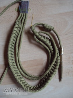 Radziecki/rosyjski sznur galowy