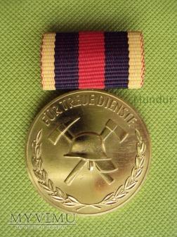Medal złoty Feuerwehr: für treue Dienste