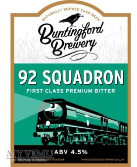 buntingford brewery - 92 squadron